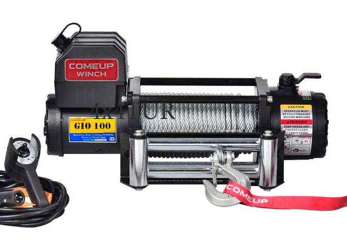 Лебедка электрическая Comeup GIO 100 12V STD
