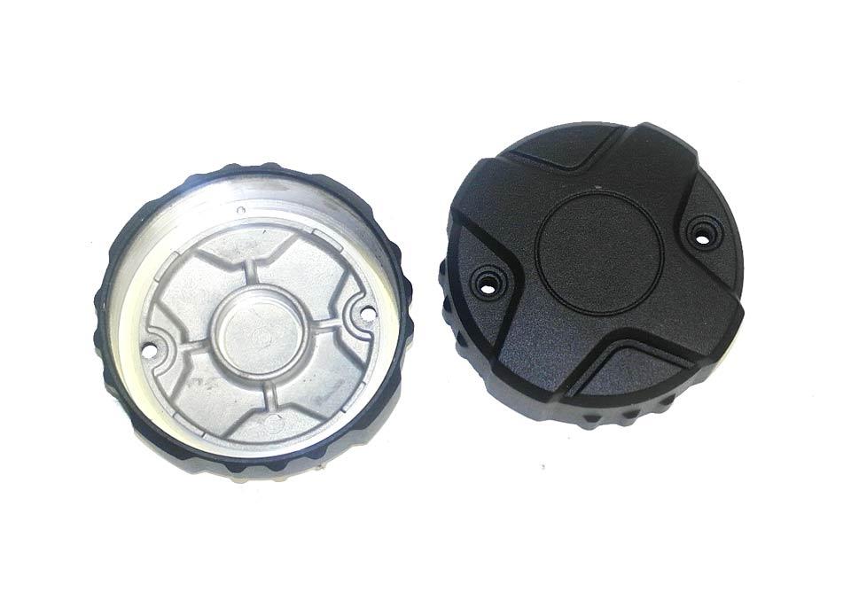 Крышка мотора с радиатором