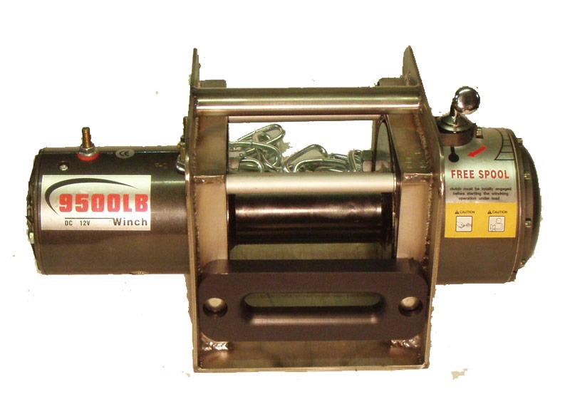Съёманя цепаня лебёдка RJO9,5S