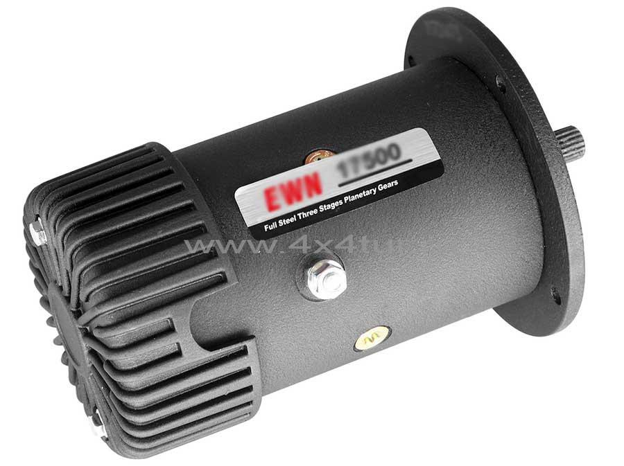 Мотор лебёдки 24В 10 Л.С.