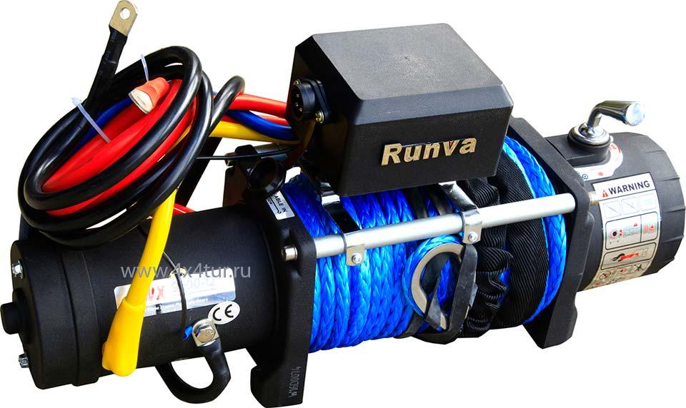 Лебёдка RUNVA 9500-Q EVO SR