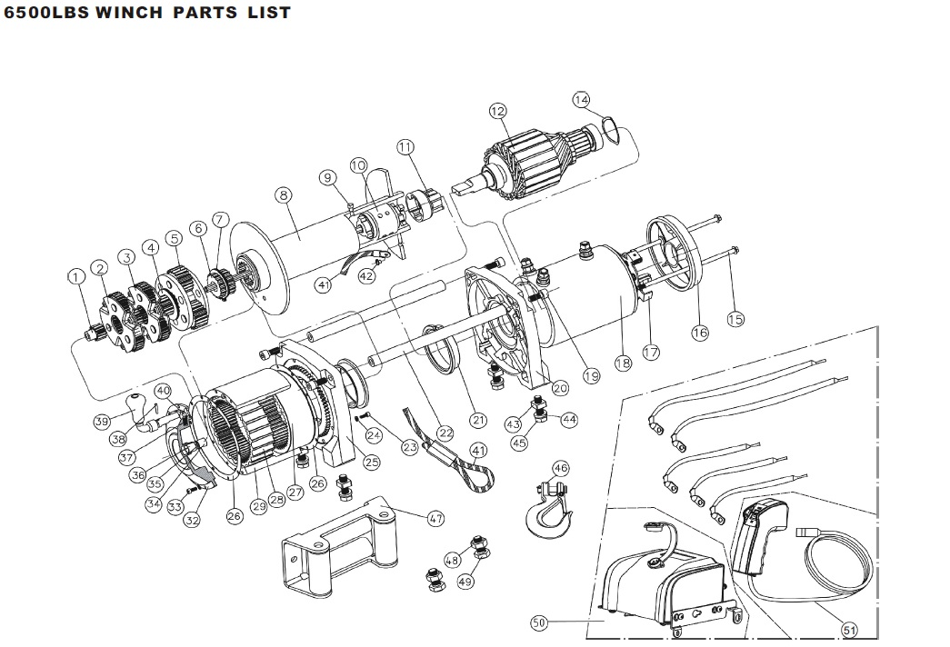 6000 lb badland winch wiring diagram