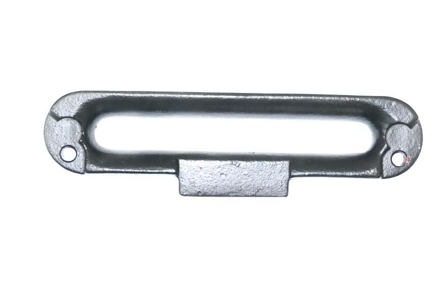 Клюз стальной для стального троса.