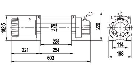 Схема размеров X8288