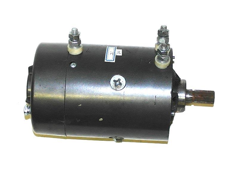 Мотор лебёдки 24В, 6 Л.С.